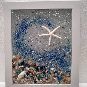 Sparkle on Sea Star