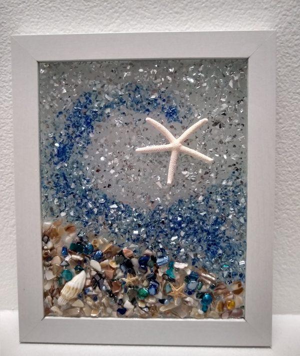 Sparkle on Sea Star